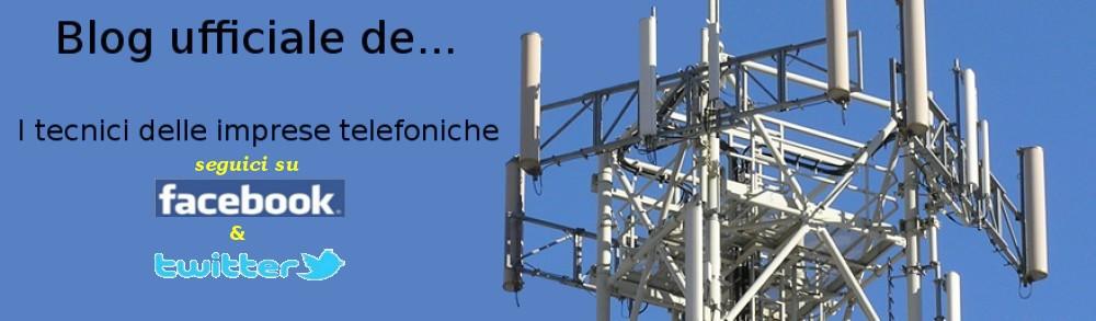 I tecnici delle imprese telefoniche